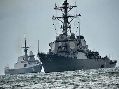 German Navy ship visits Pakistan