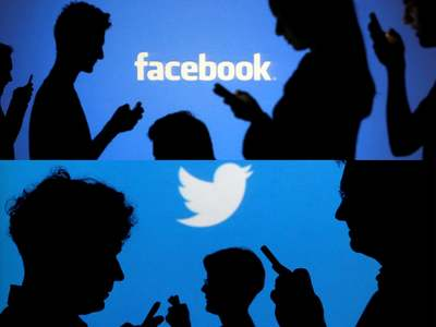 Russia fines Facebook and Twitter over banned content