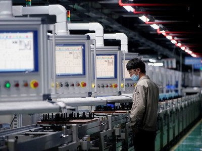 China's factory, consumer sectors stumble on COVID-19 disruptions
