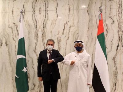 Pakistan, UAE agree to remain in close contact on Afghanistan situation