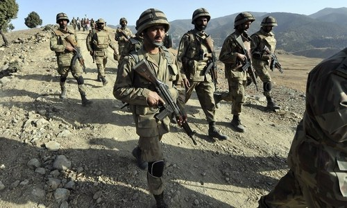 Seven Pakistan Army soldiers martyred in South Waziristan