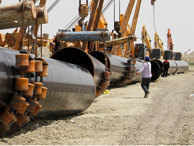 White oil pipeline project: ECC for locking tariff in dollar terms for 5 years