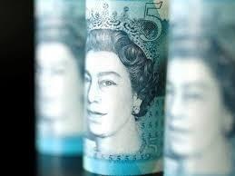 Sterling edges up after UK inflation jump