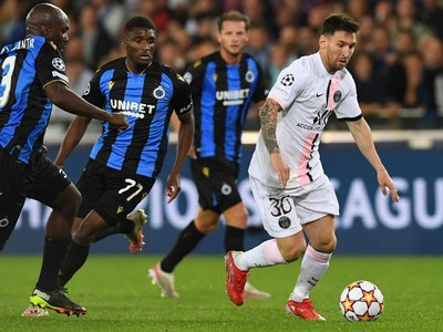 Messi restricted in PSG draw as Man City, Liverpool win thrillers