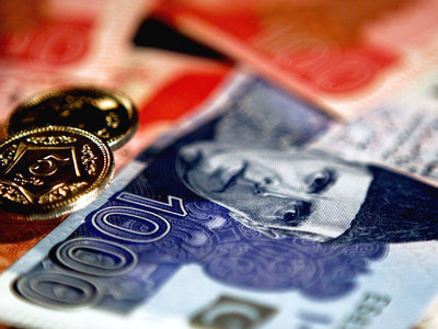 The rupee slide