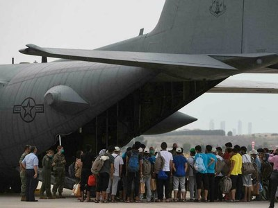 Plane carrying 170, including US, European citizens, departs Kabul for Doha