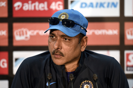 India coach Shastri denies book launch led to positive Covid test