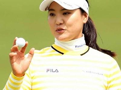 South Korea's Ko vaults into lead at Portland LPGA event