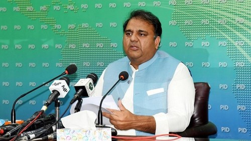 Govt has doubts over CEC's conduct: Fawad Chaudhry