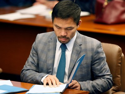 Boxer-turned-politician: Philippines' Manny Pacquiao to run for president in 2022