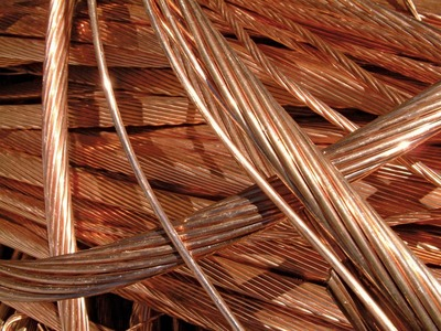 Copper prices hover near 1-month low on Evergrande debt crisis