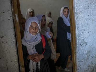 Taliban say girls to return to school 'as soon as possible'