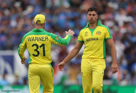 Australia's Stoinis suffers hamstring injury in IPL match