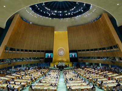 At UN, West frustrated by slow pace with Iran
