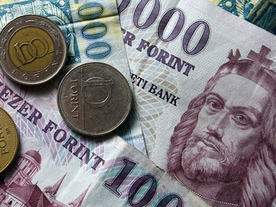 Forint hits eight-week low as central bank shifts rate hikes to lower gear