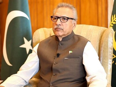 President highlights criticality of established 'institutions'