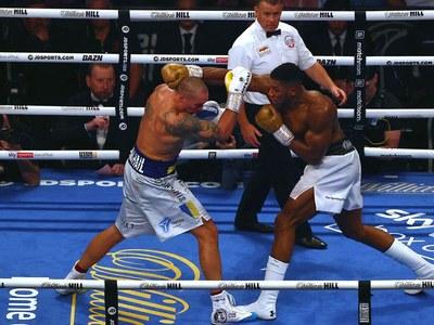 Usyk ends Joshua's reign as world heavyweight champion