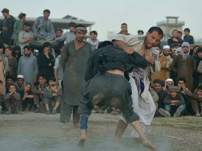 On a dusty Kabul field, Afghans fight for glory