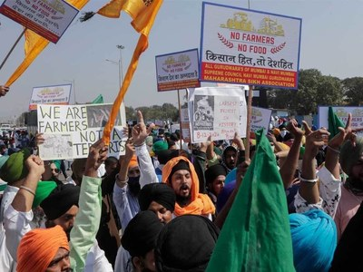 Indian farmers stage nationwide protests against 'reforms'