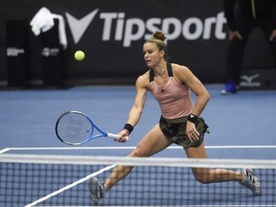 Greek Sakkari boosts chances of making WTA Finals cut