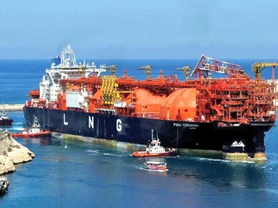 Asian LNG spot price reaches record high of $34.47/mmbtu