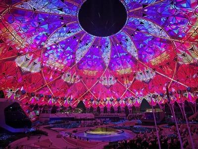 Dubai opens glitzy Expo with extravagant show