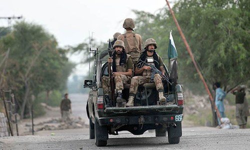 4 FC soldiers, 1 Levies official martyred in terrorist attack: ISPR