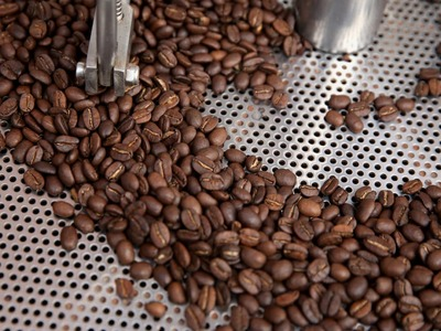 Arabica coffee falls from two-month top but stocks underpin