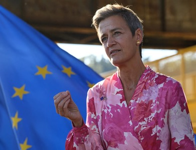 Facebook outage shows need for more players, EU's Vestager says
