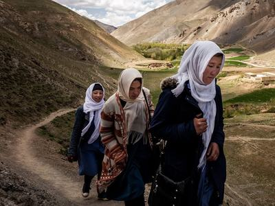 Anxiety and fear for women in Taliban stronghold