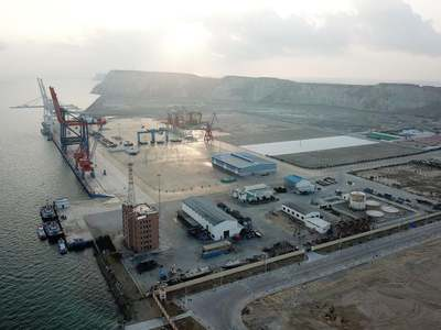 Gwadar Eastbay Expressway completion likely by Oct-end