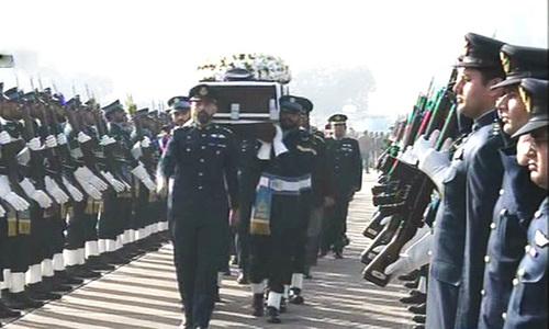 Former PAF chief Farooq Feroze Khan passes away
