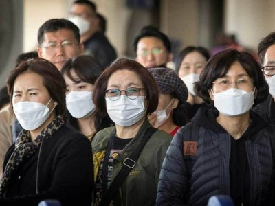 Coronavirus toll at 1000 GMT Monday