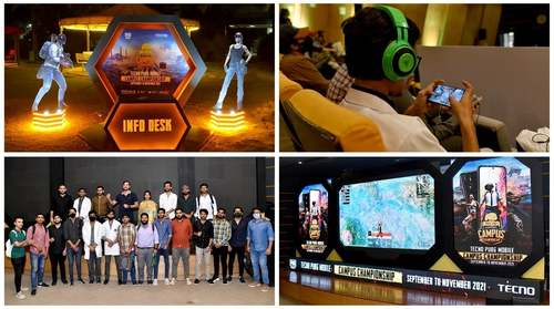 TECNO thrills fans with enthralling challenges and PUBGM Campus activities