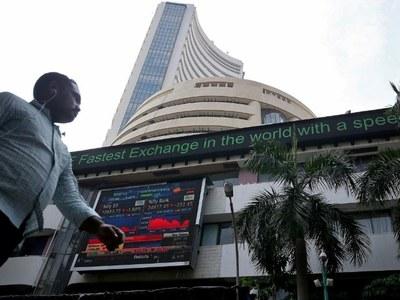 Indian shares end higher