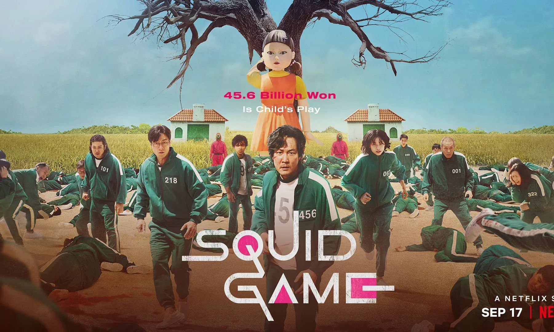South Korea's 'Squid Game' is officially Netflix's biggest original show debut