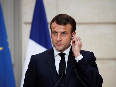 Macron hosts Tajik leader for talks on Afghanistan