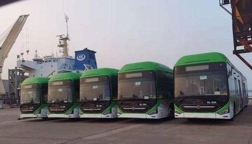 40 more Green Line buses to reach Karachi today