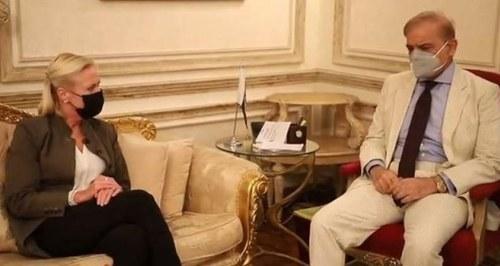 US Chargé d'affaires meets Shehbaz Sharif, Maryam Nawaz in Lahore