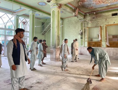 41 killed, 74 hurt in suicide attack on Kandahar mosque