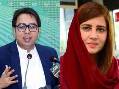 PARTLY FACETIOUS: Zartaj Gul and Shahbaz Gill