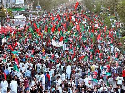 Thousands from Hyderabad attend PPP's Karachi rally