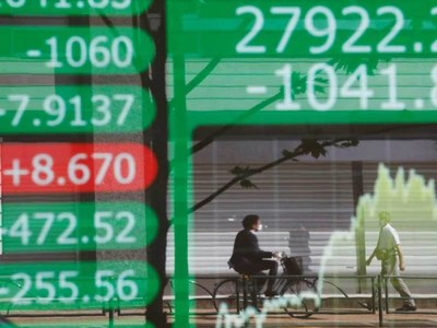 Asian markets weighed by inflation woes, China growth slows further