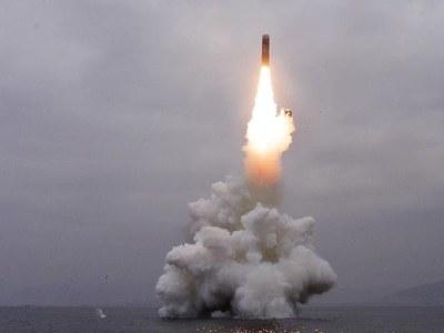 North Korea test fires submarine-launched ballistic missile, S.Korea says