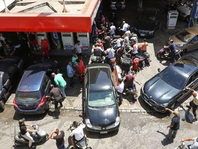 Crisis-hit Lebanon hikes fuel prices in de facto end to subsidies