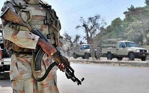 Two FC soldiers, two policemen martyred