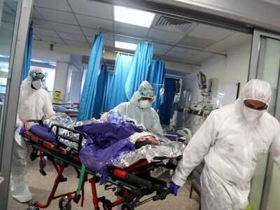 Ukraine sets new Covid infections and deaths records
