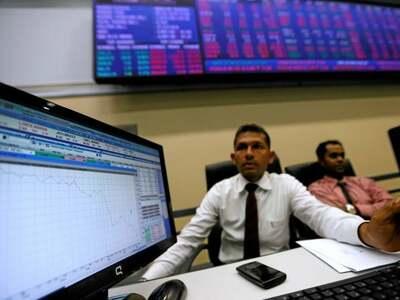 Sri Lankan shares close at record high as financials gain