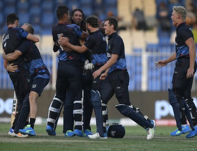 Namibia make history with T20 World Cup second round spot