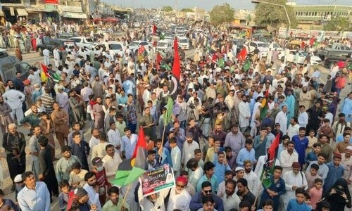 Opposition parties stage country-wide protests against inflation